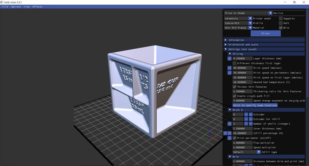 logiciel impression 3d icesl
