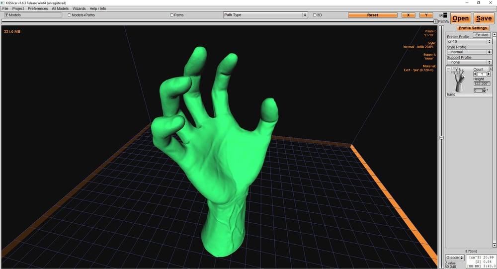 logiciel impression 3d kisslicer