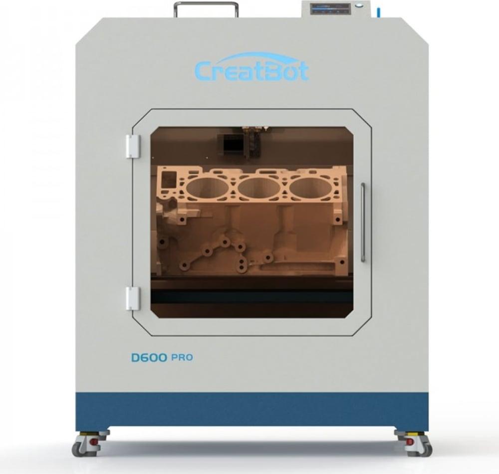 Construction d'une imprimante delta de dimension modulable D600-Creatbot-coer-image