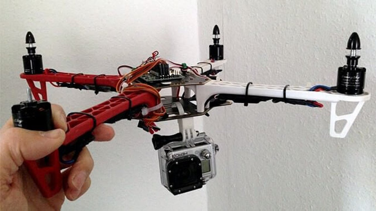 Featured image of 3D Printed GoPro Mount with Cable Tie