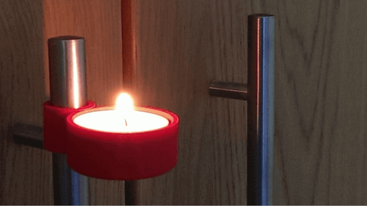 Featured image of 3D Printed Candle Holder
