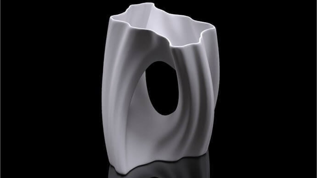 Featured image of Julia Vase 002 Yin Yang