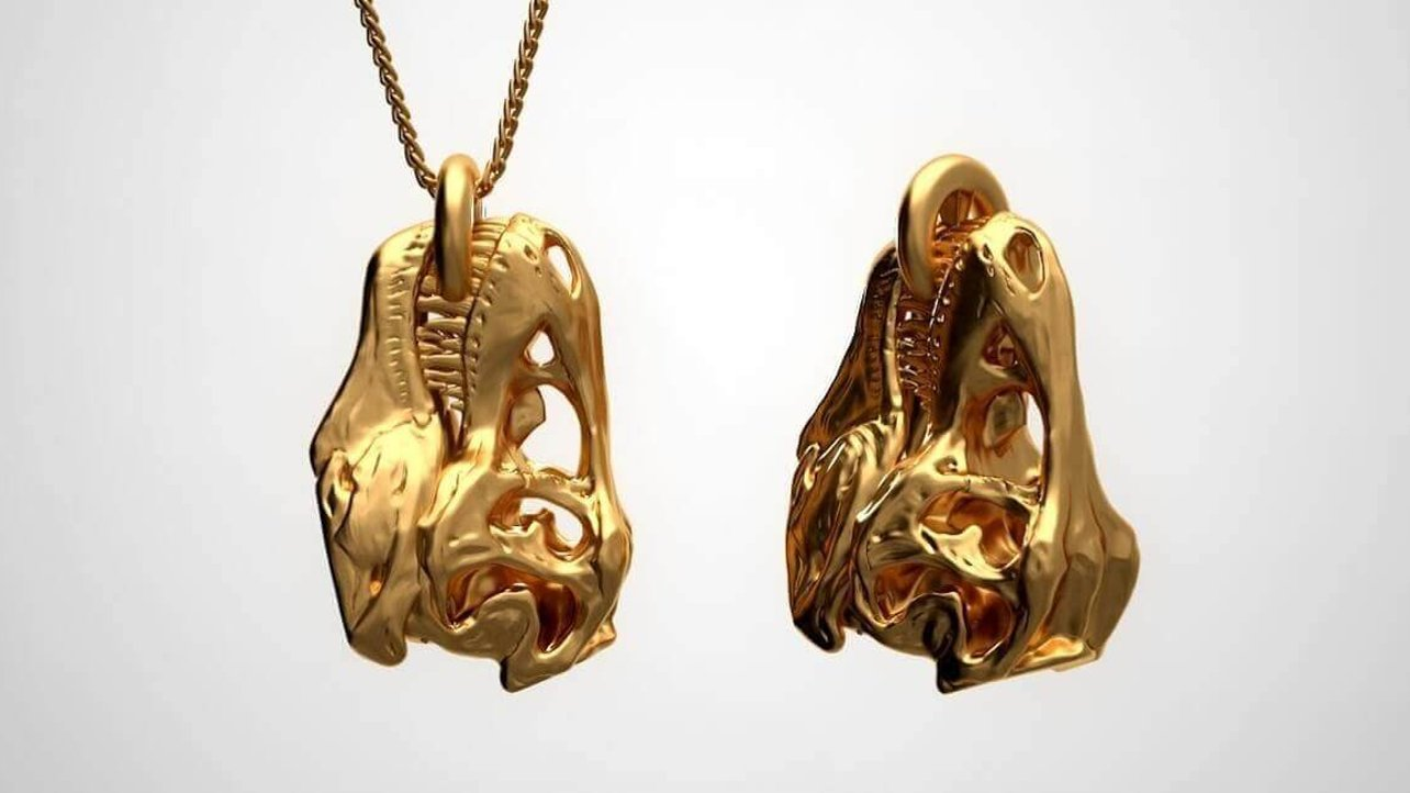 Featured image of Jurassic World Fans: T-Rex Pendant for $8000?