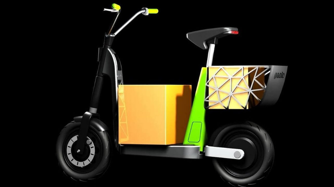 Featured image of Prototype Paolo is a 3D Printed Electric Scooter