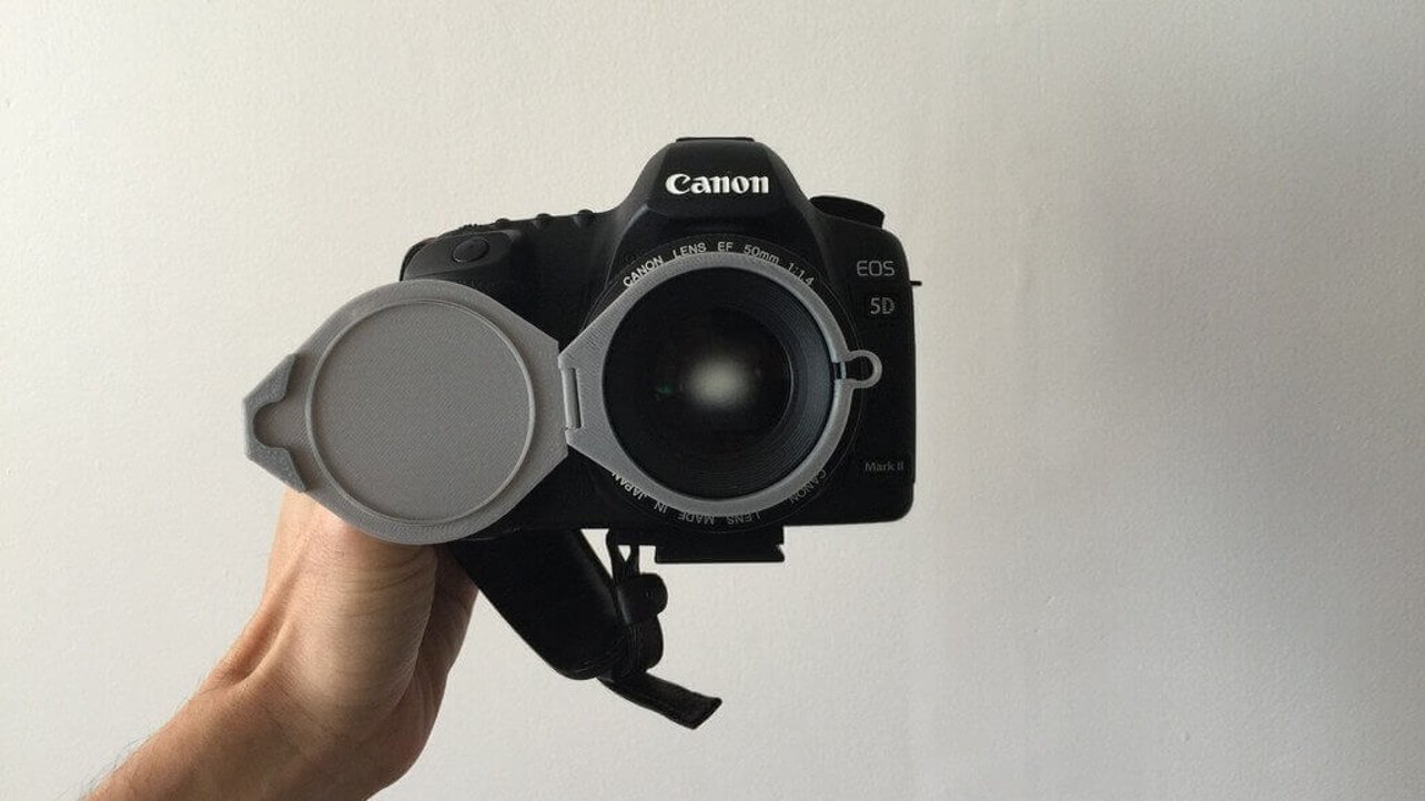 Featured image of 3D Printed Lens Caps to Protect your Camera Lenses