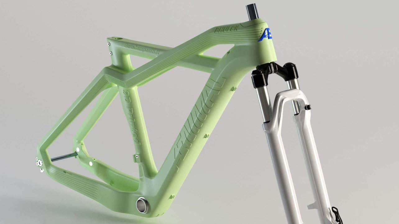 Featured image of 3D Printed Mountain Bike Wins Eurobike Gold Award