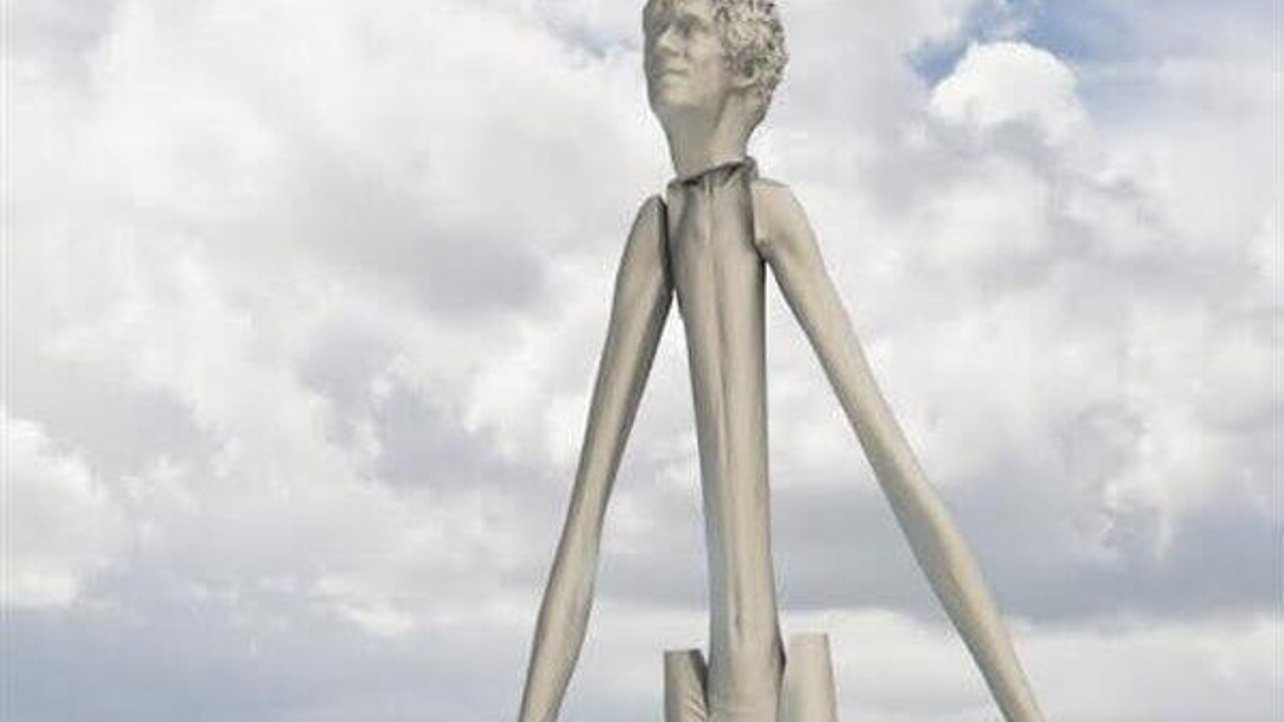Featured image of Meet the Giant 3D Printed Scarecrow