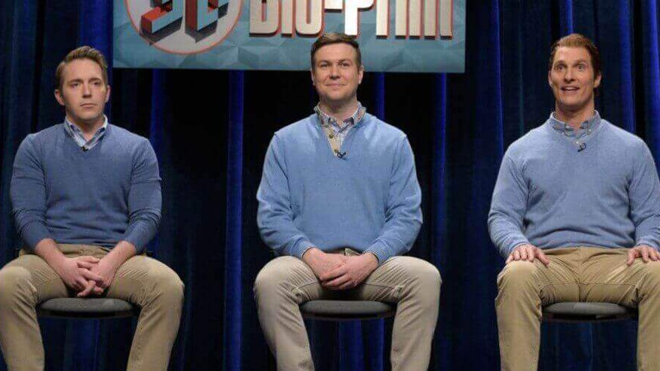 Featured image of Matthew McConaughey Plays Hilarious 3D Printed Man on SNL