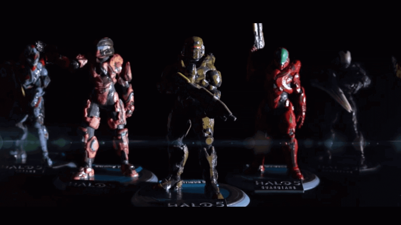 Featured image of Halo 5: Customize And 3D Print Your Spartan