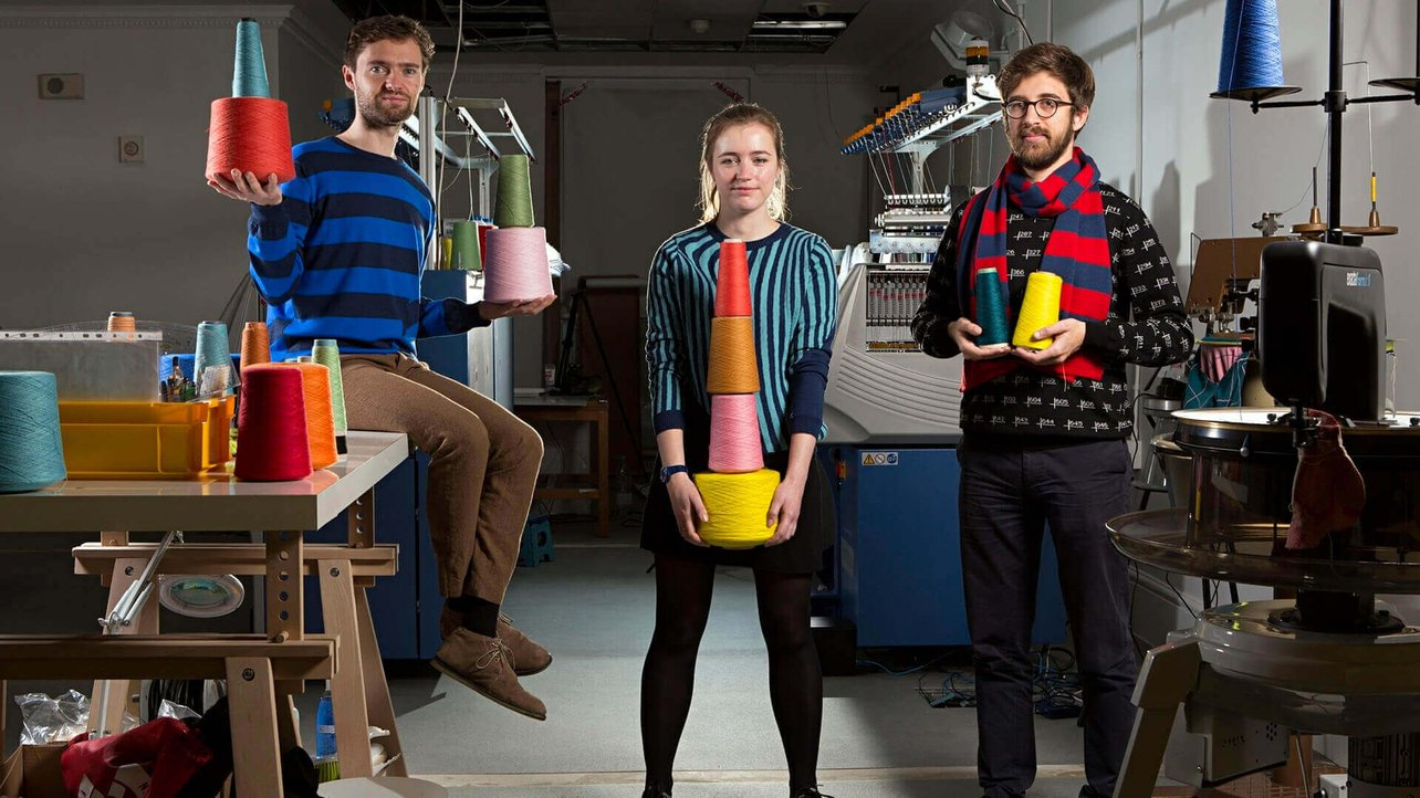 Featured image of Unmade Studio: High-Tech Knitwear Inspired by 3D Printing