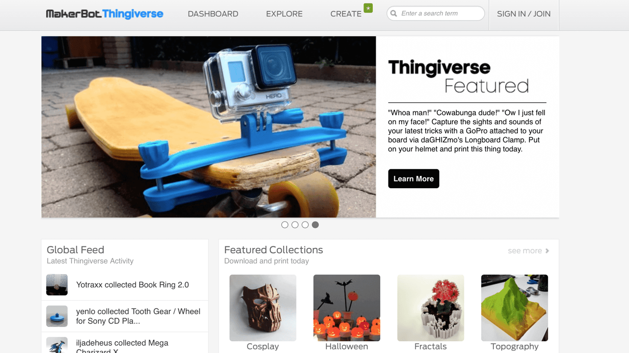 Featured image of Thingiverse Reaches 1 Million Uploads, 200 Million Downloads