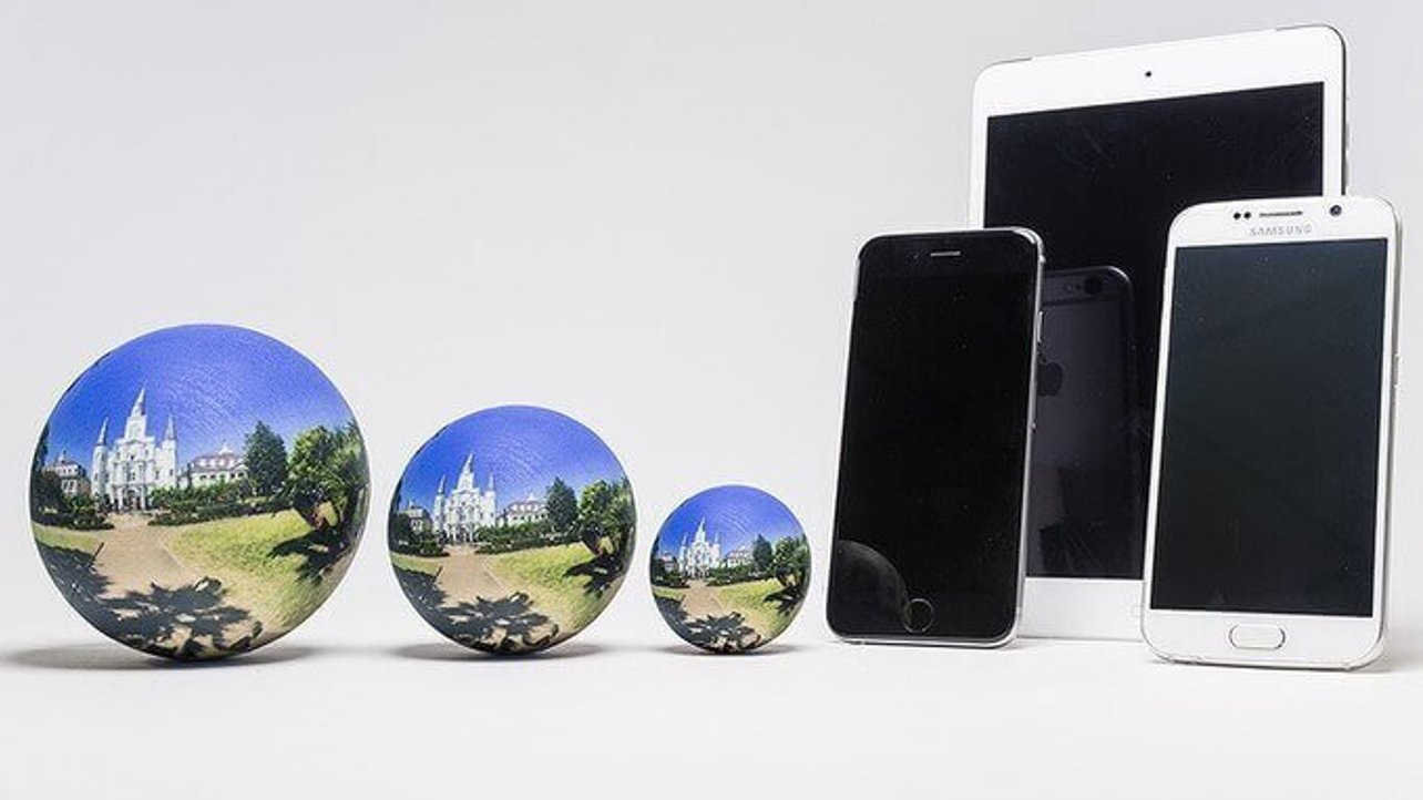 Featured image of Kickstarter Scandy Sphere creates a Perfect Panorama