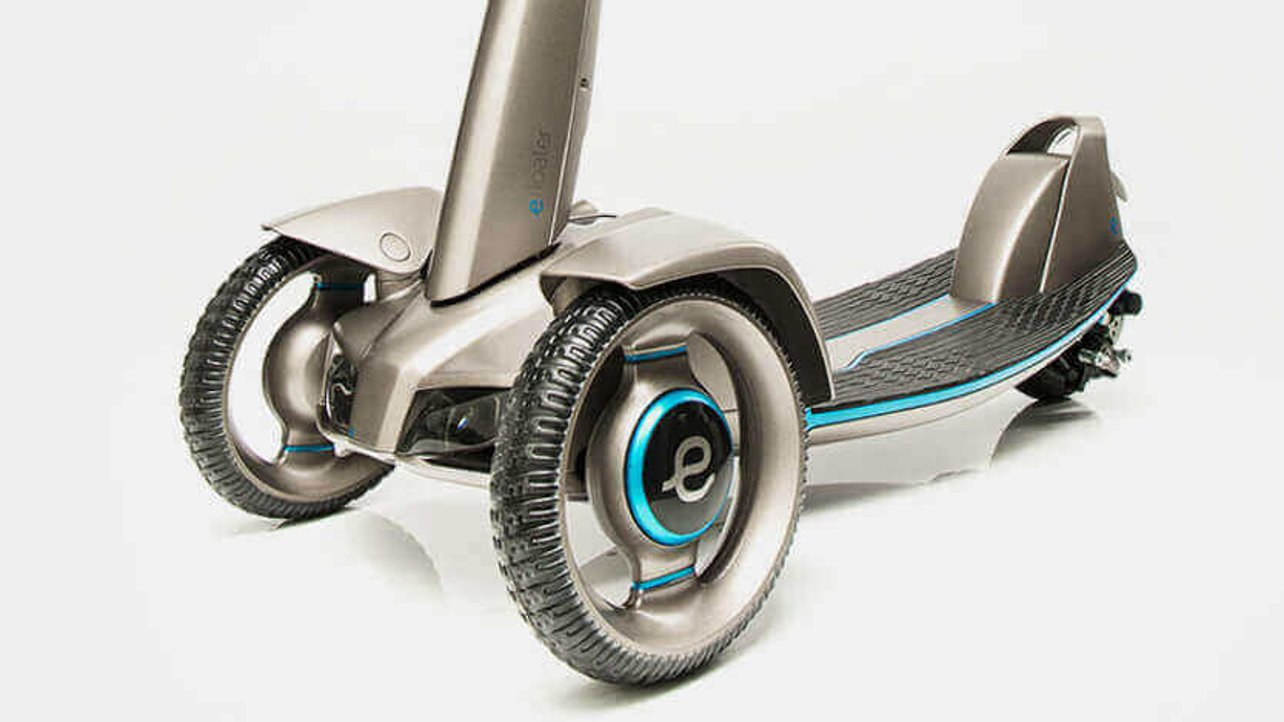 Featured image of Floatility: Solar-Powered Scooter Prototyped with 3D Printing