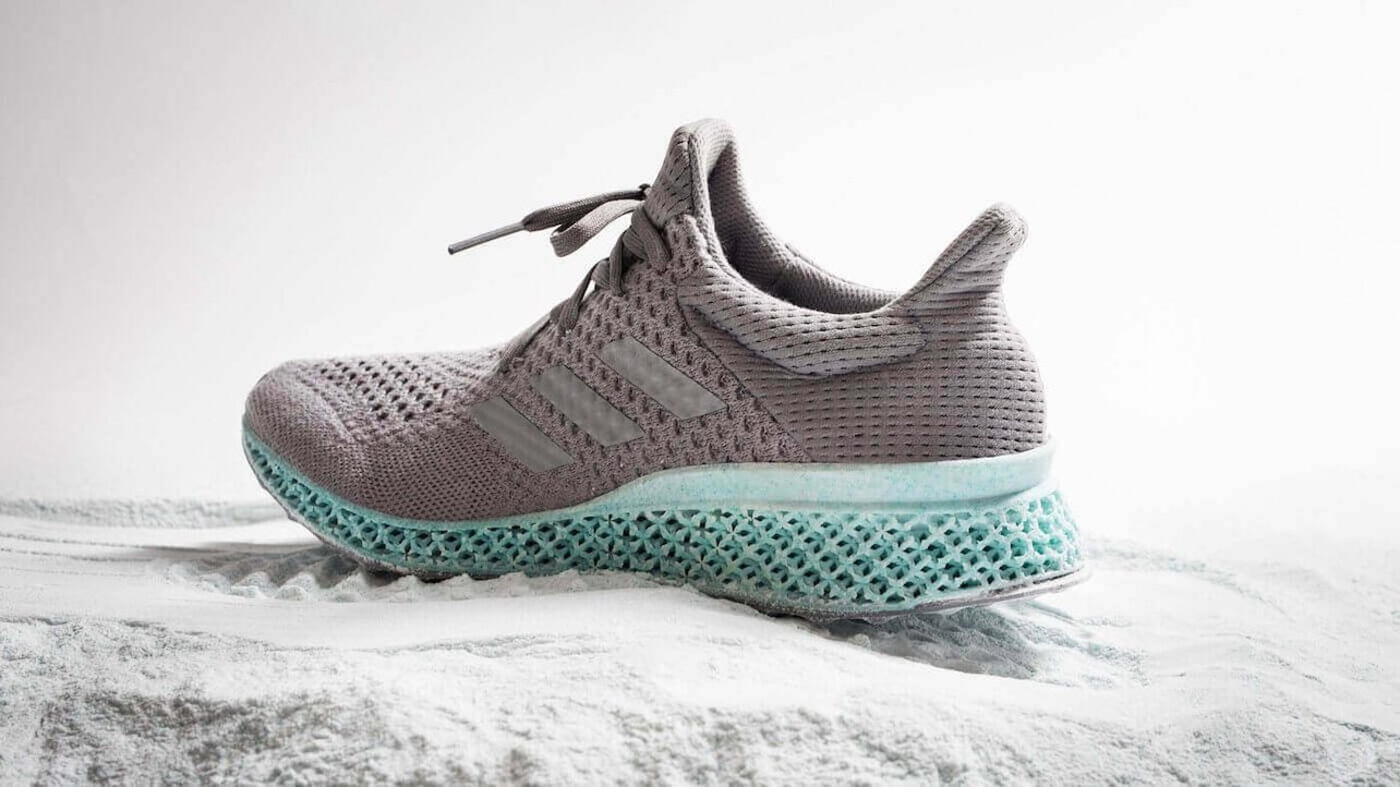 Featured image of Adidas Uses Plastic Ocean Waste to Create Shoe