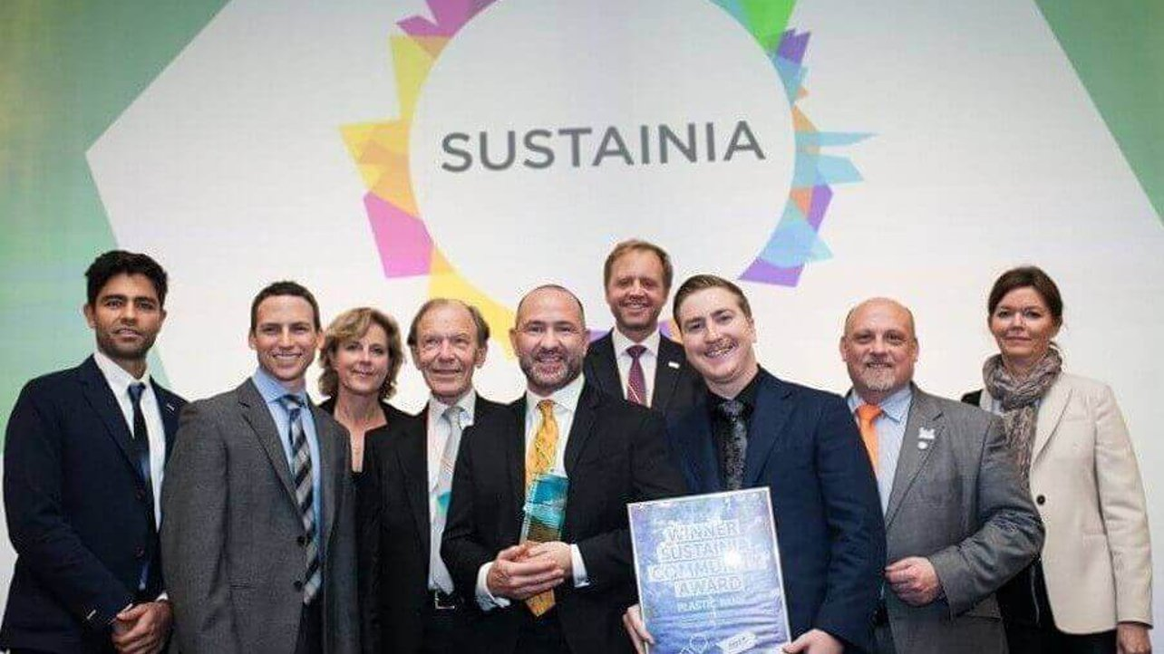 Featured image of The Plastic Bank Wins Sustainability Award in Paris