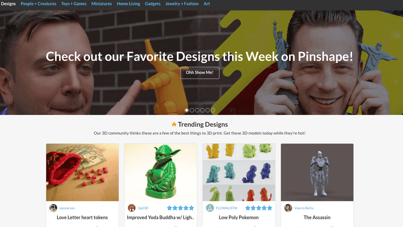 Featured image of Pinshape: Company Profile in 11 Facts
