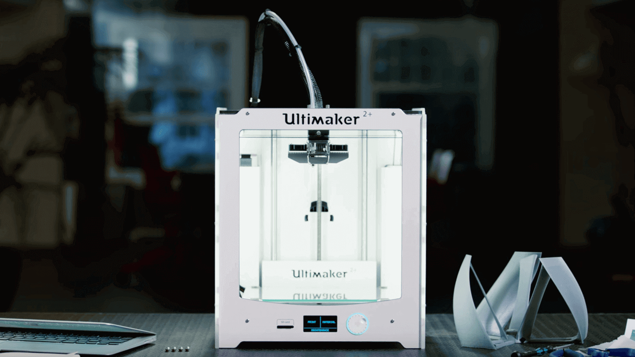 "Featured image of Ultimaker Launches Improved ""Ultimaker 2+"" Series at CES 2016"