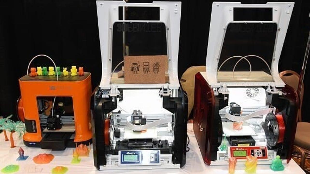 Featured image of XYZprinting launches $269 da Vinci Mini, plus 7 More 3D Printers