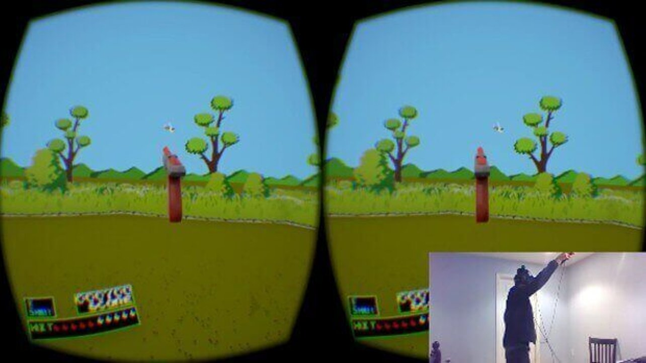 Featured image of Nintendo's Duck Hunt Revived with VR and 3D Printing