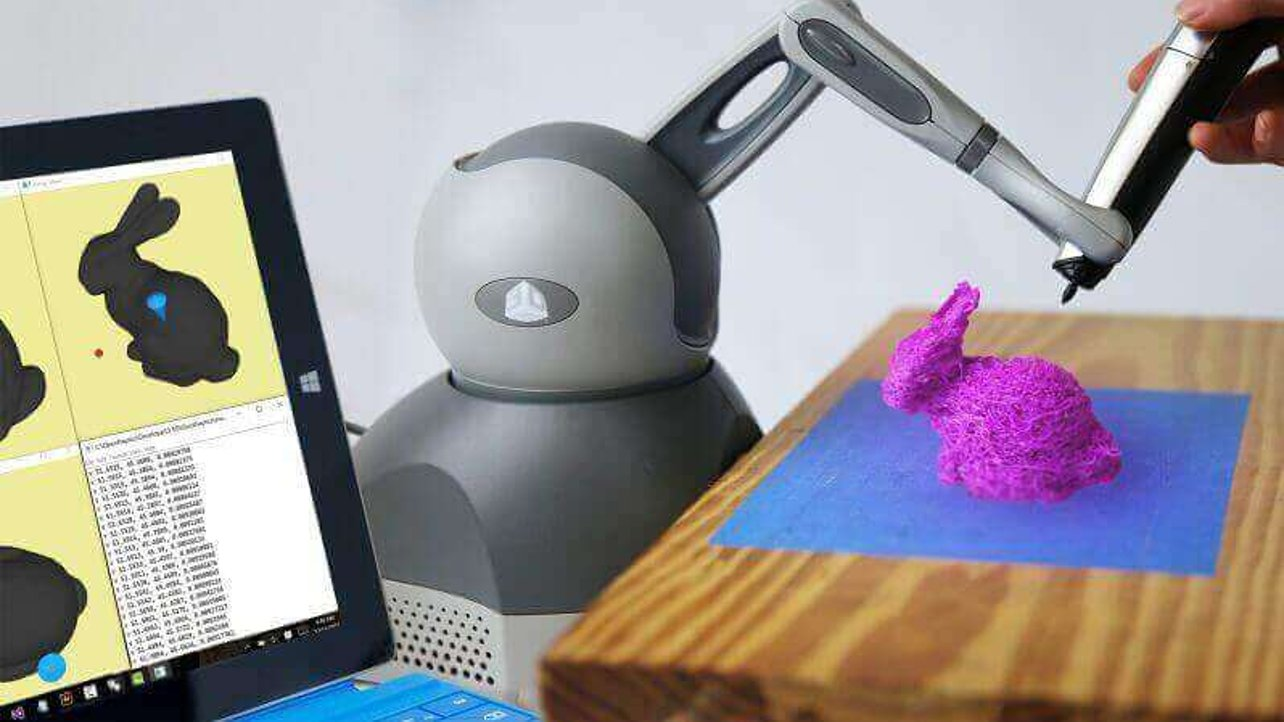 Featured image of Become a 3D Printing Artist with a Robot Guided Hand