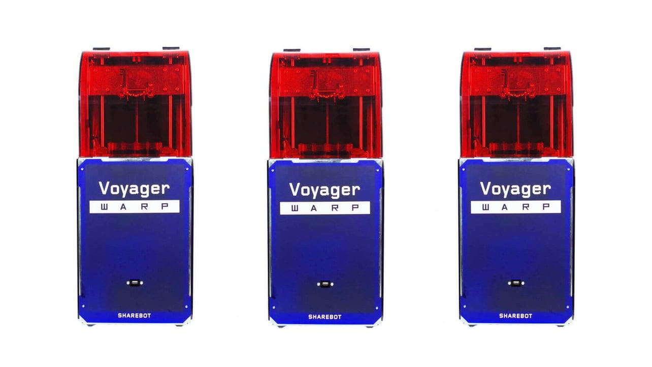 Featured image of Sharebot Voyager WARP Promises Super Speedy DLP