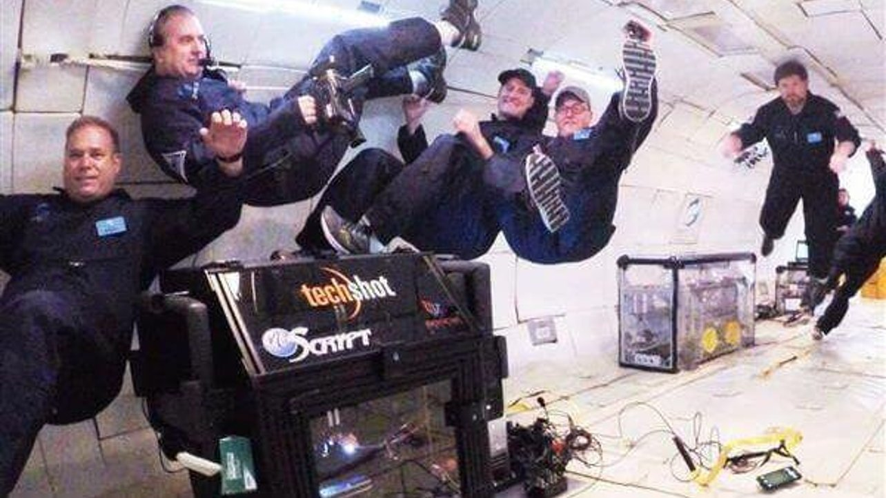 Featured image of 3D Printing in Zero Gravity, Techshots 3D Prints Heart Cells