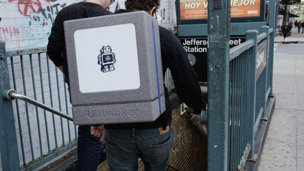Featured image of Ultimaker 2 Go Backpack makes 3D Printing Portable