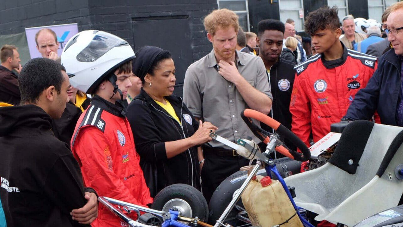 Featured image of Prince Harry Witnesses 3D Printed Race Karts in Action