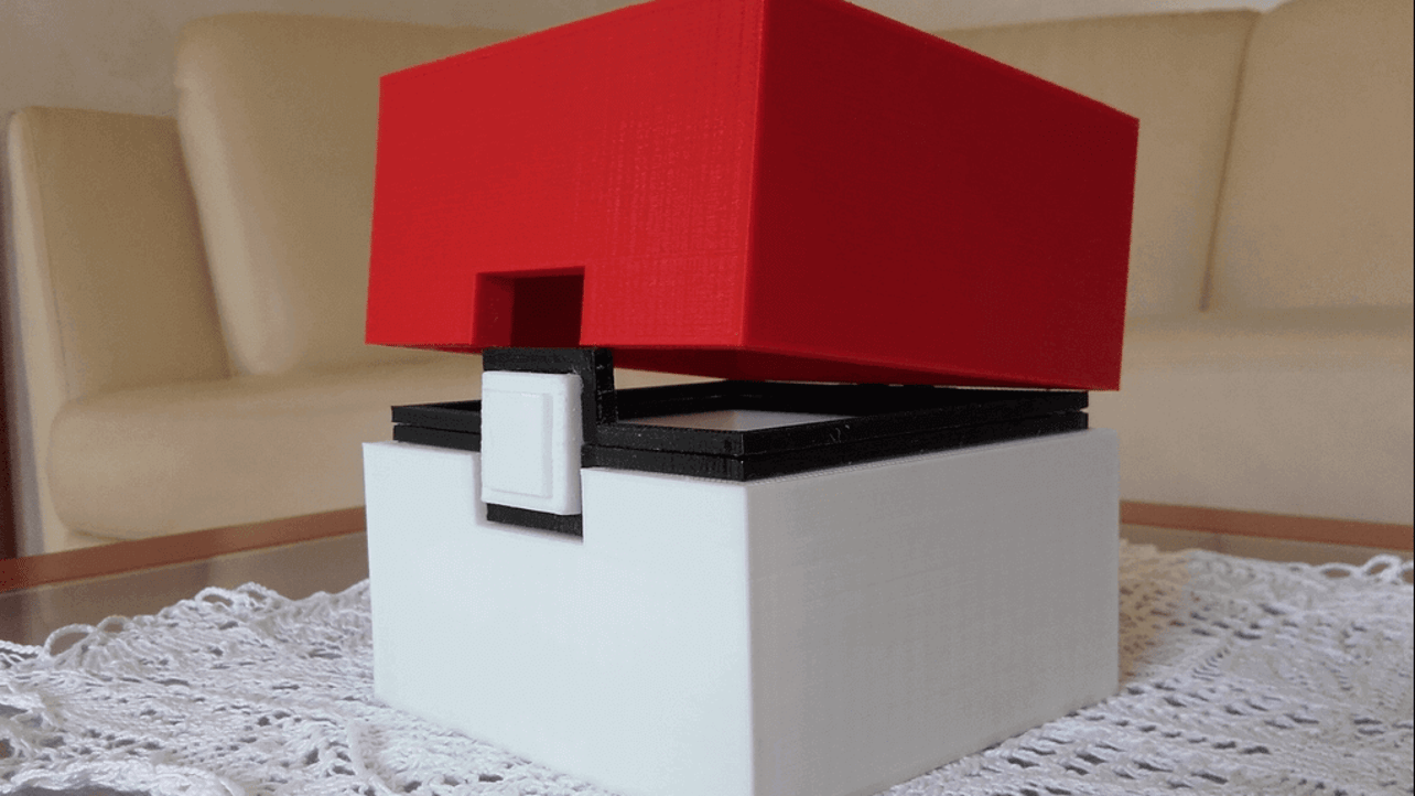 Featured image of Store your Loot in This Wonderful 3D Printed Pokebox