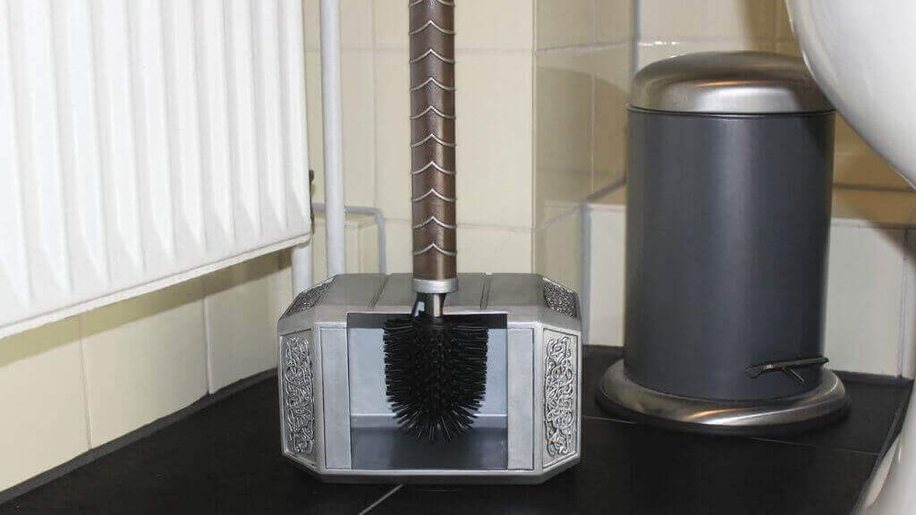 Featured image of Is Your Bathroom Worthy of Thor's Hammer Toilet Brush?