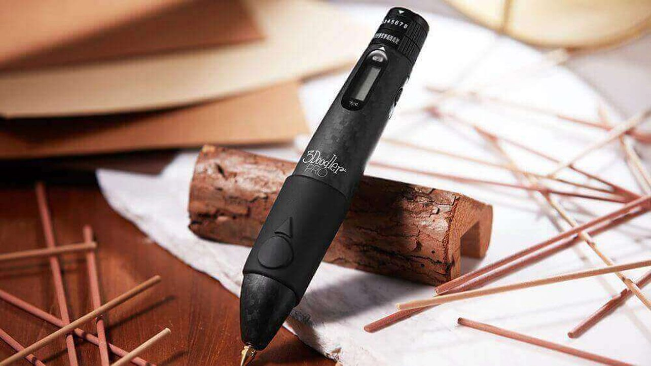 Featured image of 3Doodler Pro Can Print in Wood, Metal and Nylon