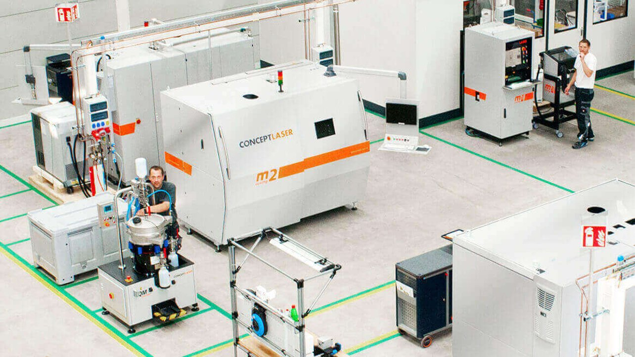 Featured image of GE Buys Concept Laser After Metal 3D Printing Deal Collapse