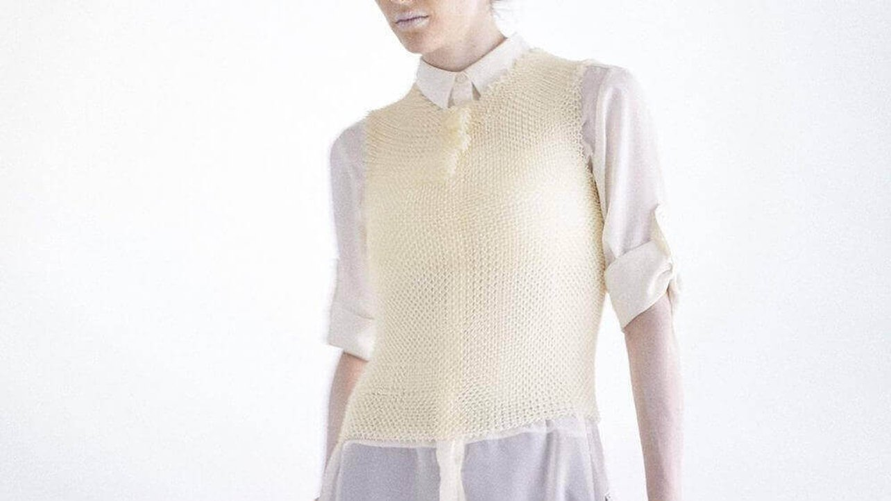 Featured image of 3D Printed AMIMONO Vest by STARted and Masaharu Ono