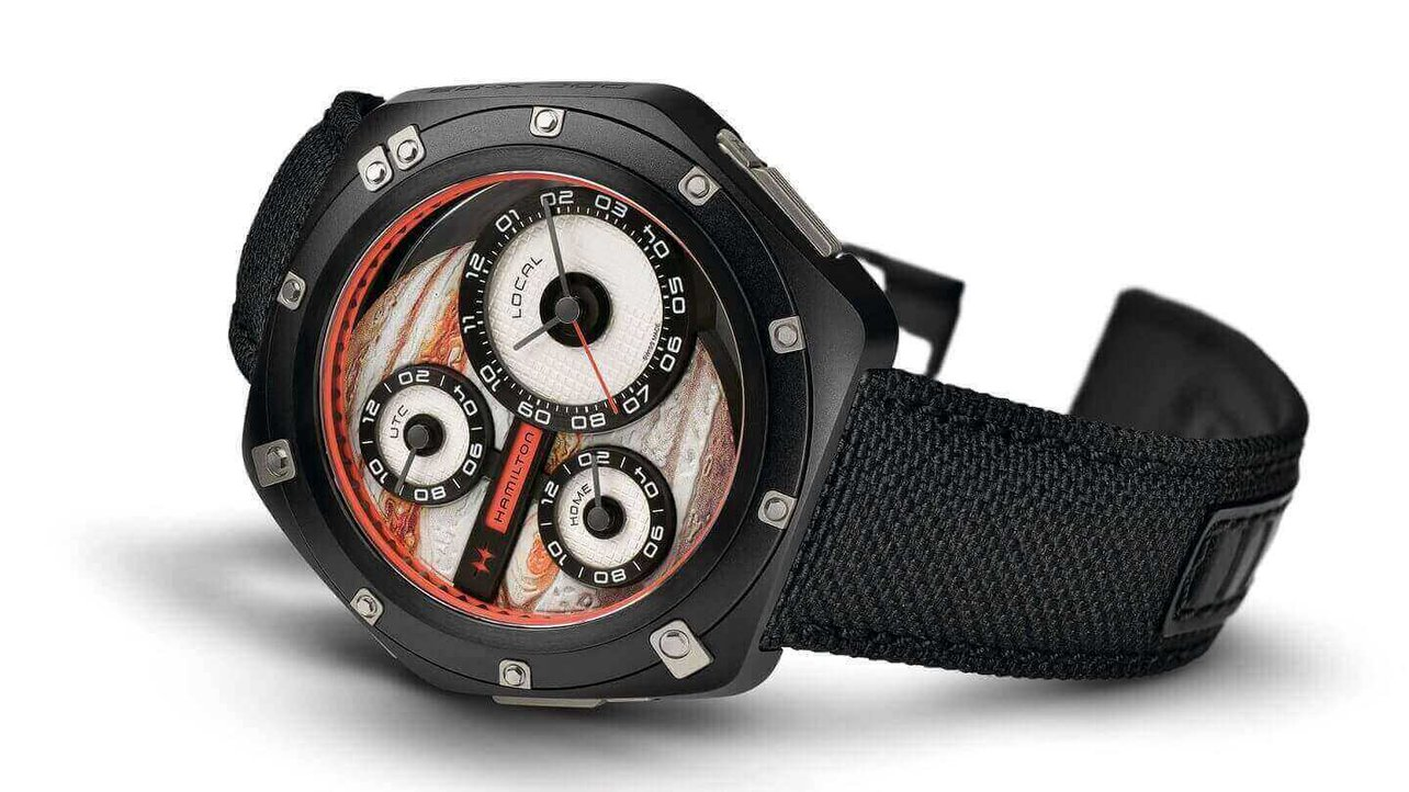 Featured image of Hamilton ODC X-03 is a Sci-Fi Watch with 3D Printed Jupiter
