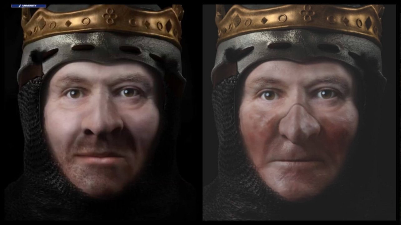 Featured image of 3D Images Show Scottish King Robert the Bruce in His Prime