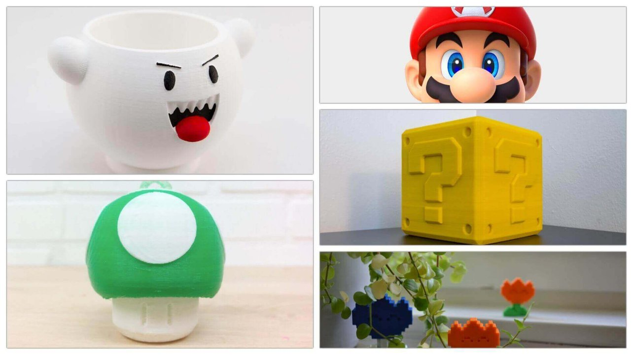 10 Great Super Mario Figures Toys To 3d Print All3dp