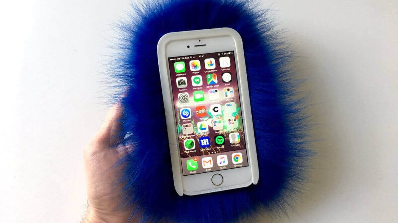Featured image of Wild and Woolly: 3D Printed iPhone Cases Covered in Real Fur