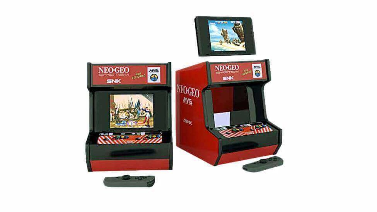 Featured image of 3D Printed Cabinet Turns Nintendo Switch into Neo Geo Arcade