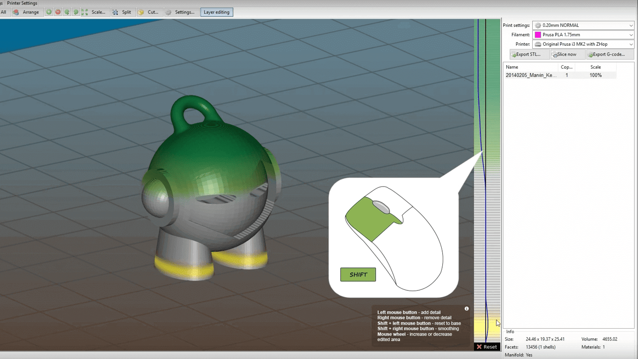 Featured image of Slic3r Prusa Edition Unveils Smooth Variable Layer Height Feature