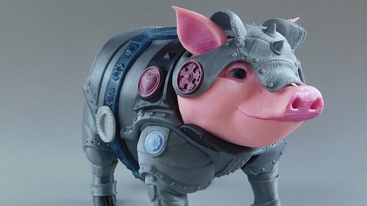 Featured image of Sir Pigglesby is a 3D Printed Piggy Bank to Stash your Cash