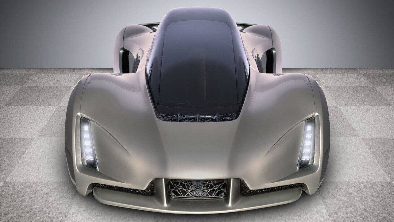 """Featured image of Jay Leno Takes Joyride in Divergent3D's """"3D Printed Supercar"""""""