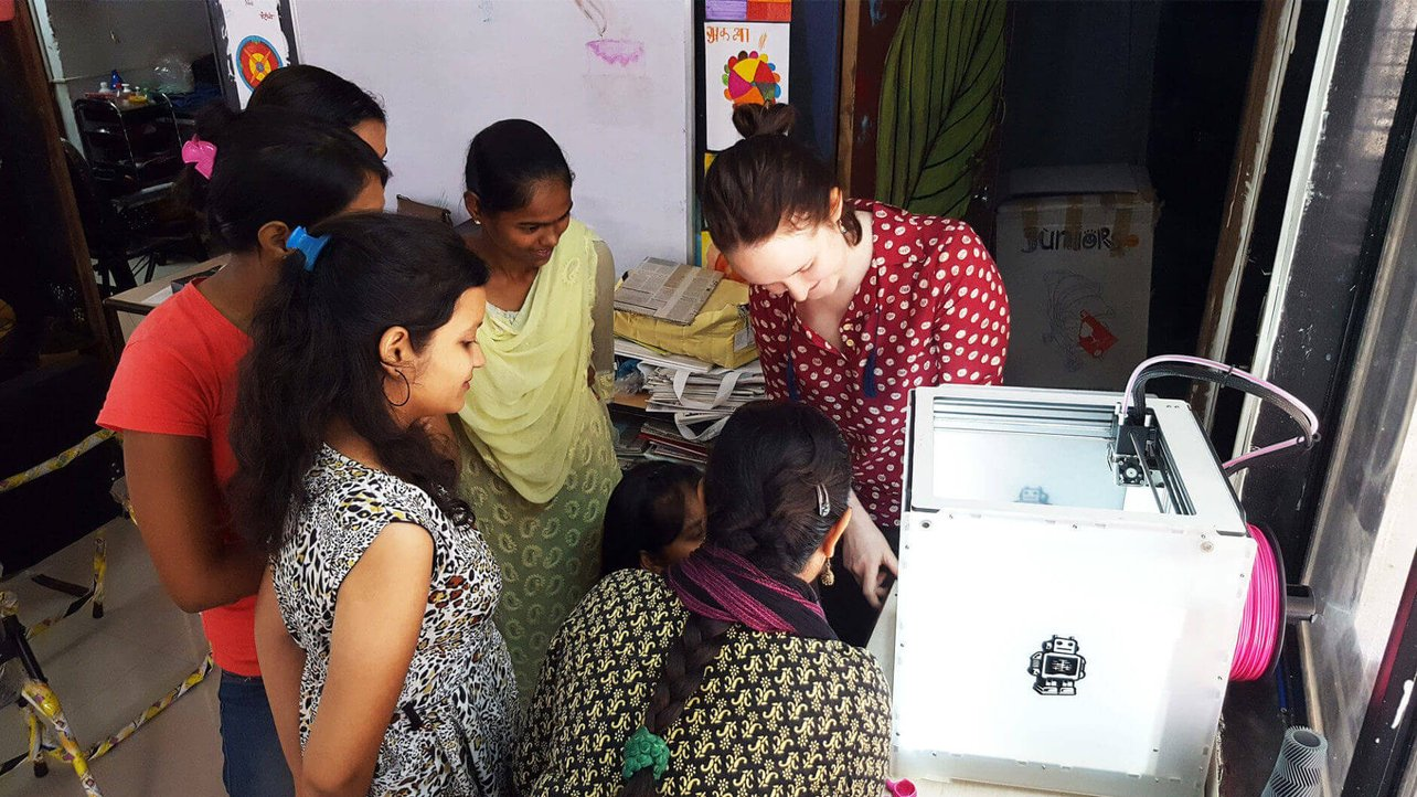 Featured image of Disadvantaged Women From India Receive Education In 3D Printing