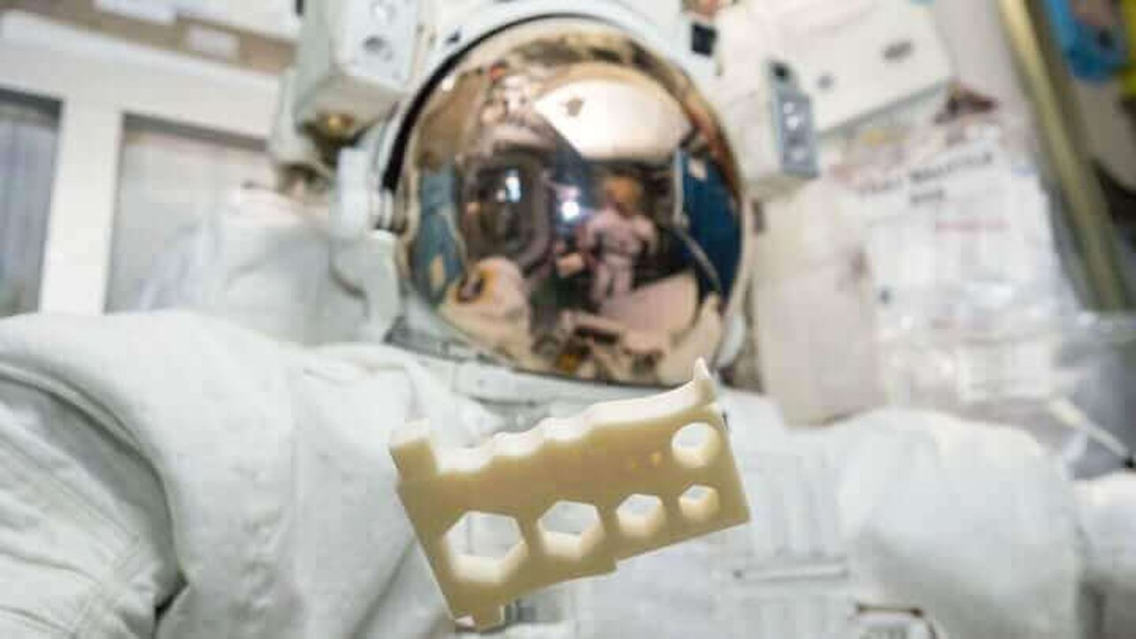 Featured image of New Plastic Allows Astronauts to 3D Print Spacewalk Tools