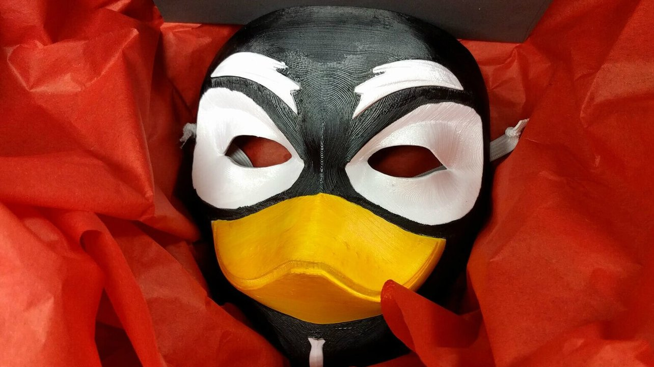 Featured image of Guy Tux: System76 Takes Back Control with 3D Printed Mask