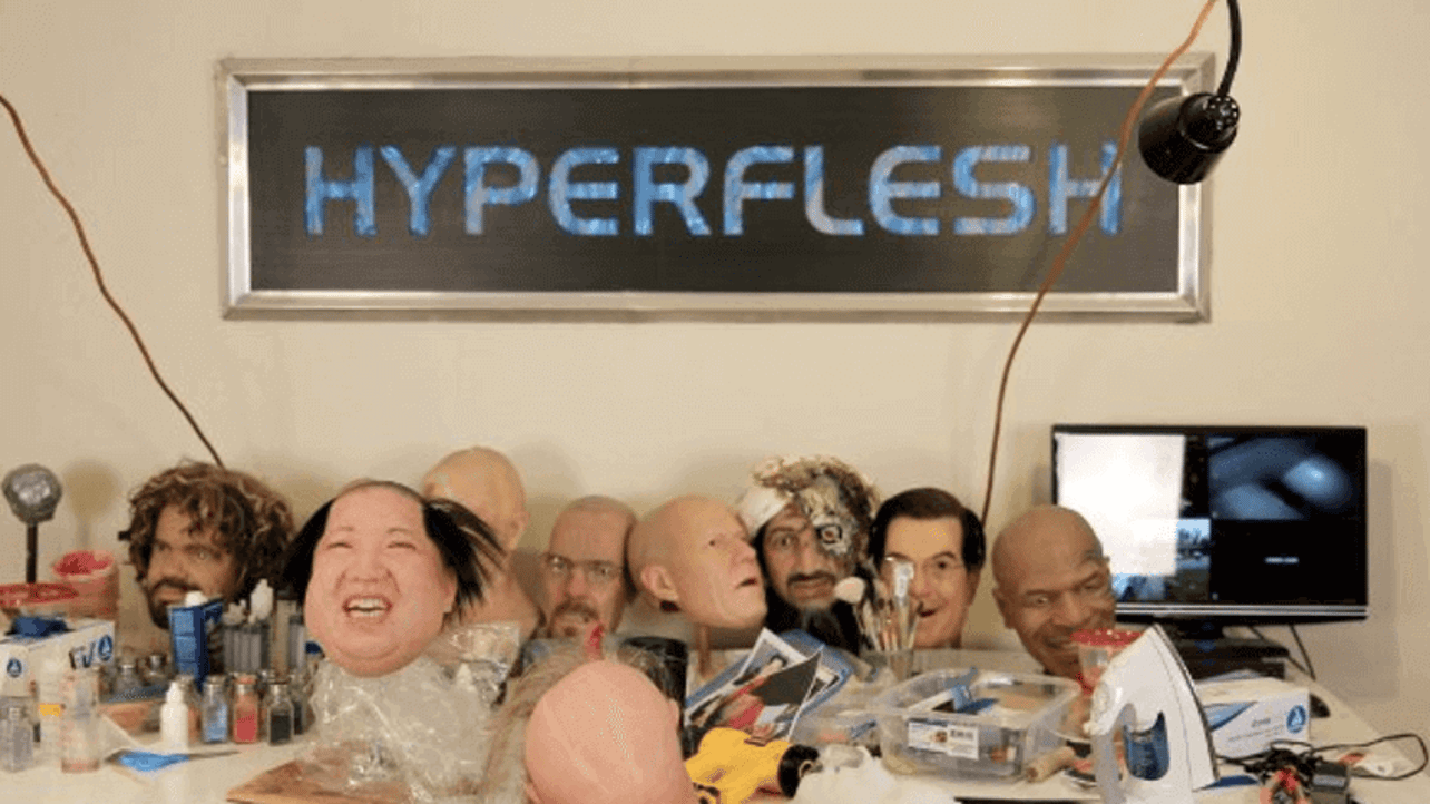 """Featured image of Hyperflesh 3D Prints Molds to Create """"Disturbingly Realistic"""" Masks"""