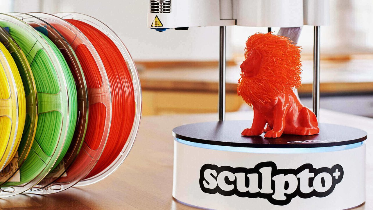 Featured image of Sculpto Plus is a New, Improved Polar 3D Printer from Denmark