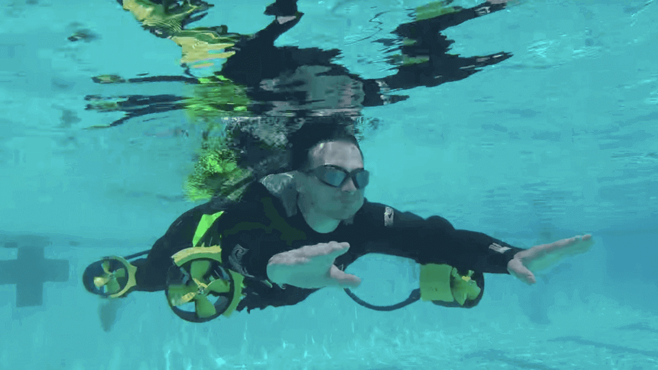 Featured image of Eclectical Engineers 3D Print an Underwater Ironman Jetpack