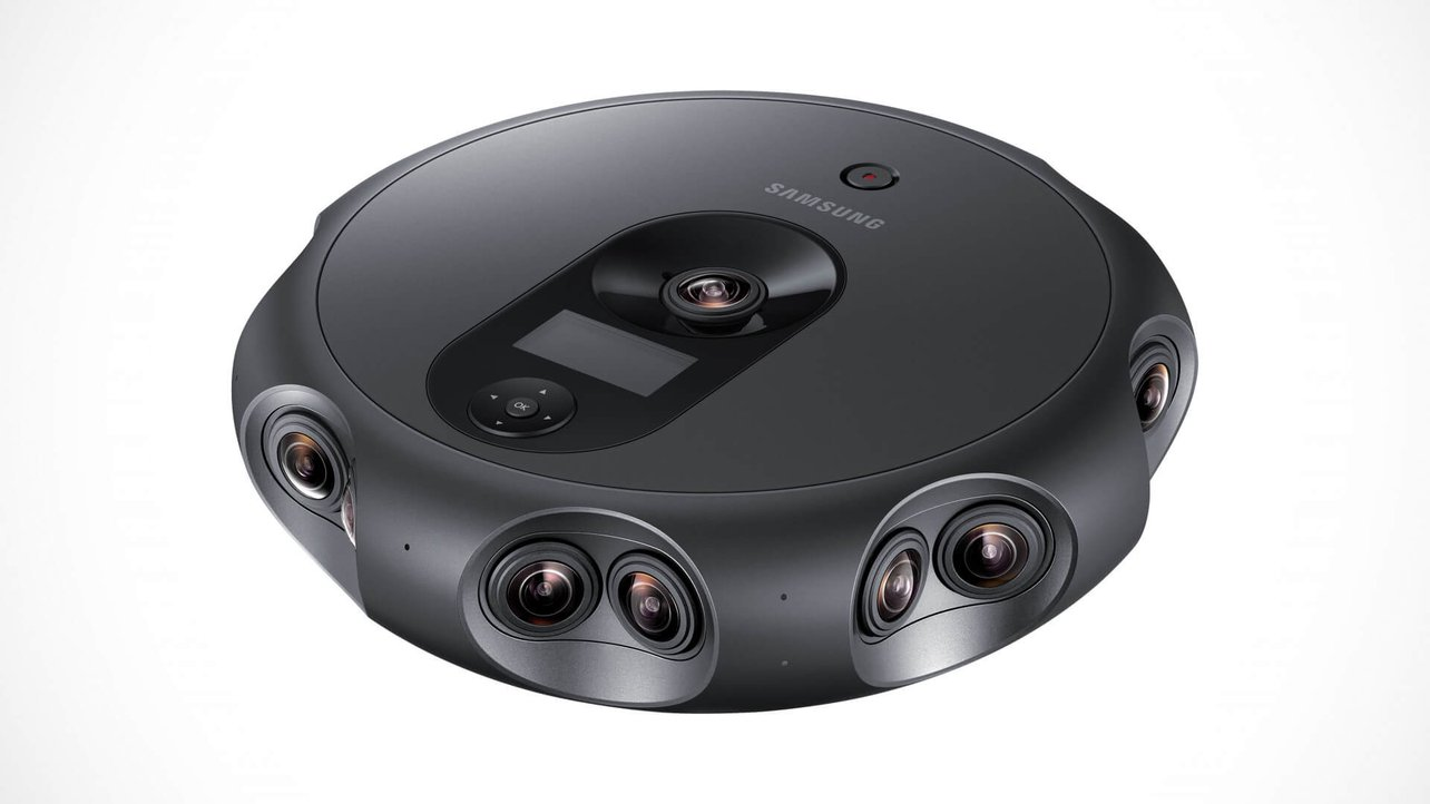 Samsung Unveils 360-Degree VR 3D 4K Video Camera | All3DP