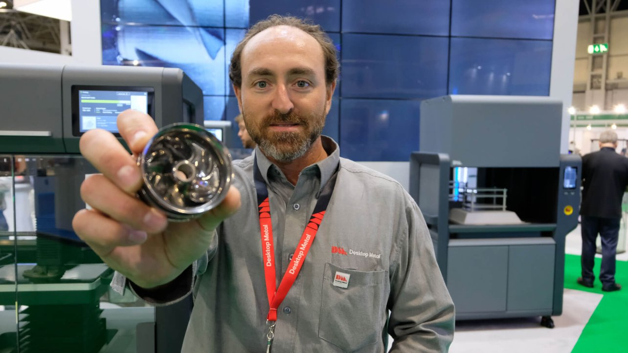 Featured image of Interview with Desktop Metal: The Metal 3D Printing Hype is Real (And Made of Steel)
