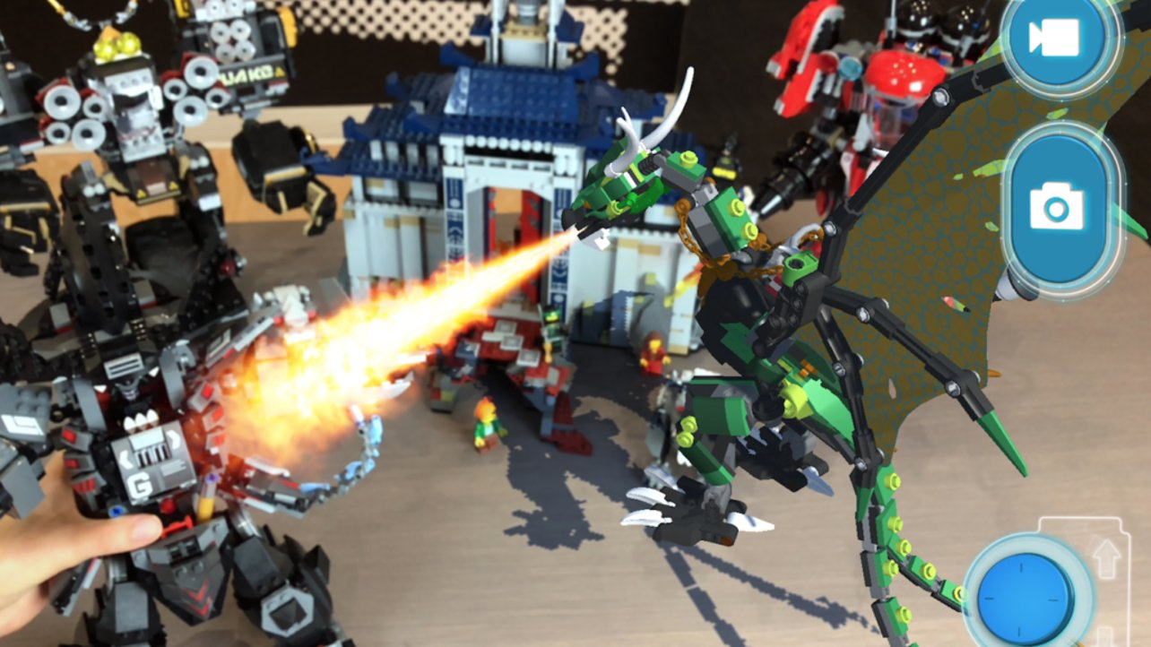 Featured image of Lego's First AR App Brings Dragons and Pirates to Life